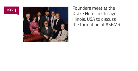 ASBMR Founders - Drake Hotel - Chicago