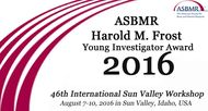 ASBMR 2016 Frost Awards