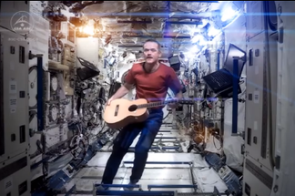Hadfield Space Oddity Osteoporosis