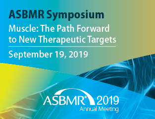 ASBMR 2019 Annual Meeting - American Society for Bone and